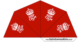 Keep Calm Free Party Printables.