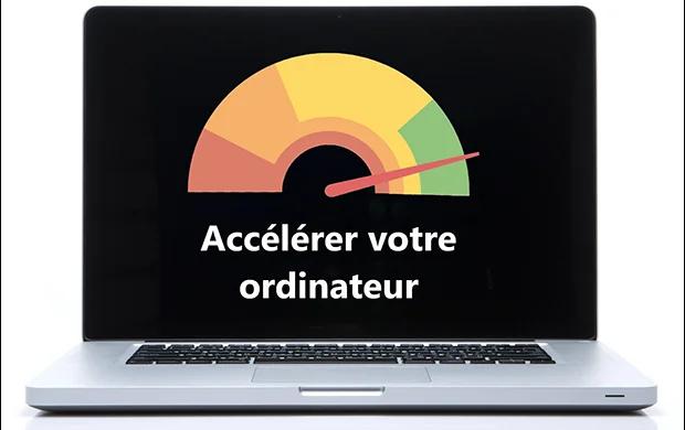 Meilleurs façons pour accélérer votre ordinateur portable.