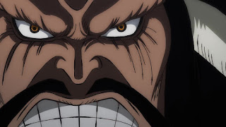 ワンピースアニメ 991話 ワノ国編 | ONE PIECE カイドウ
