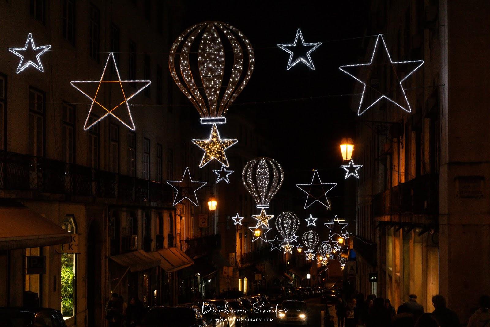 Rua Serpa Pinto (Chiado) - Christmas Decorations in Lisbon