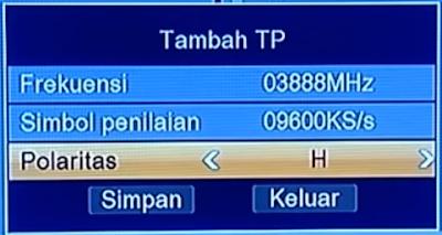 Frekuensi Trans7 HD, Trans TV HDTerbaru 9 April 2021