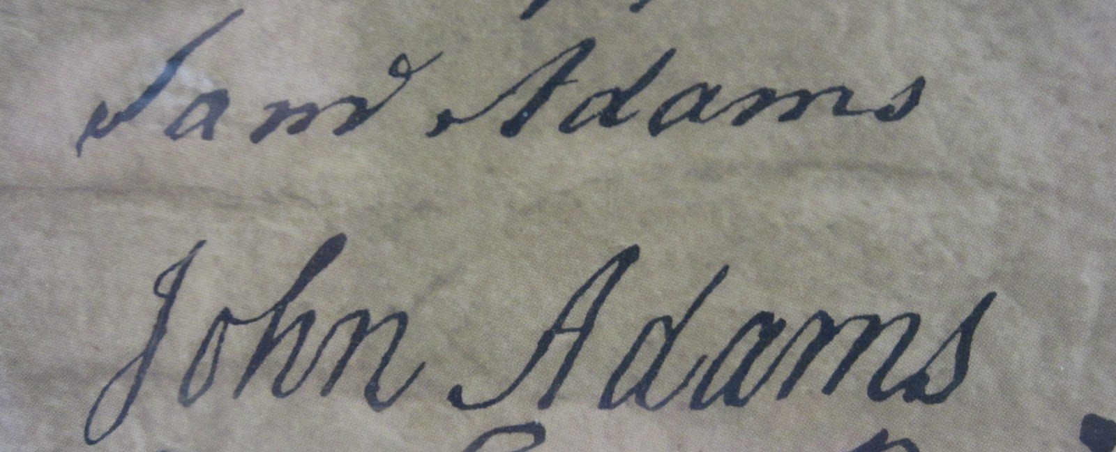 John Adams Signature - Picture of 56 Signers of the ... |Declaration Of Independence Signatures John Adams