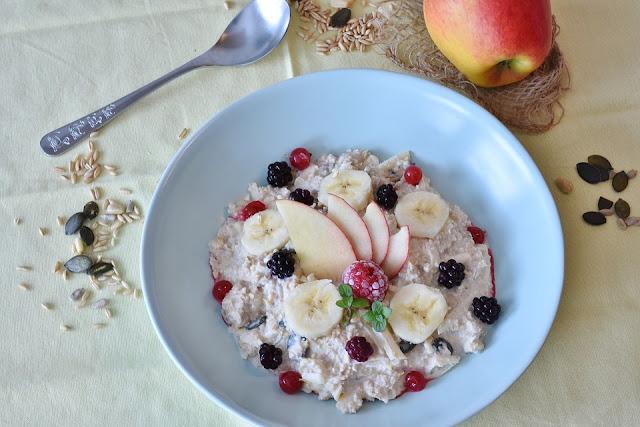 Cara membuat menu sarapan oatmeal untuk program menurukan berat badan
