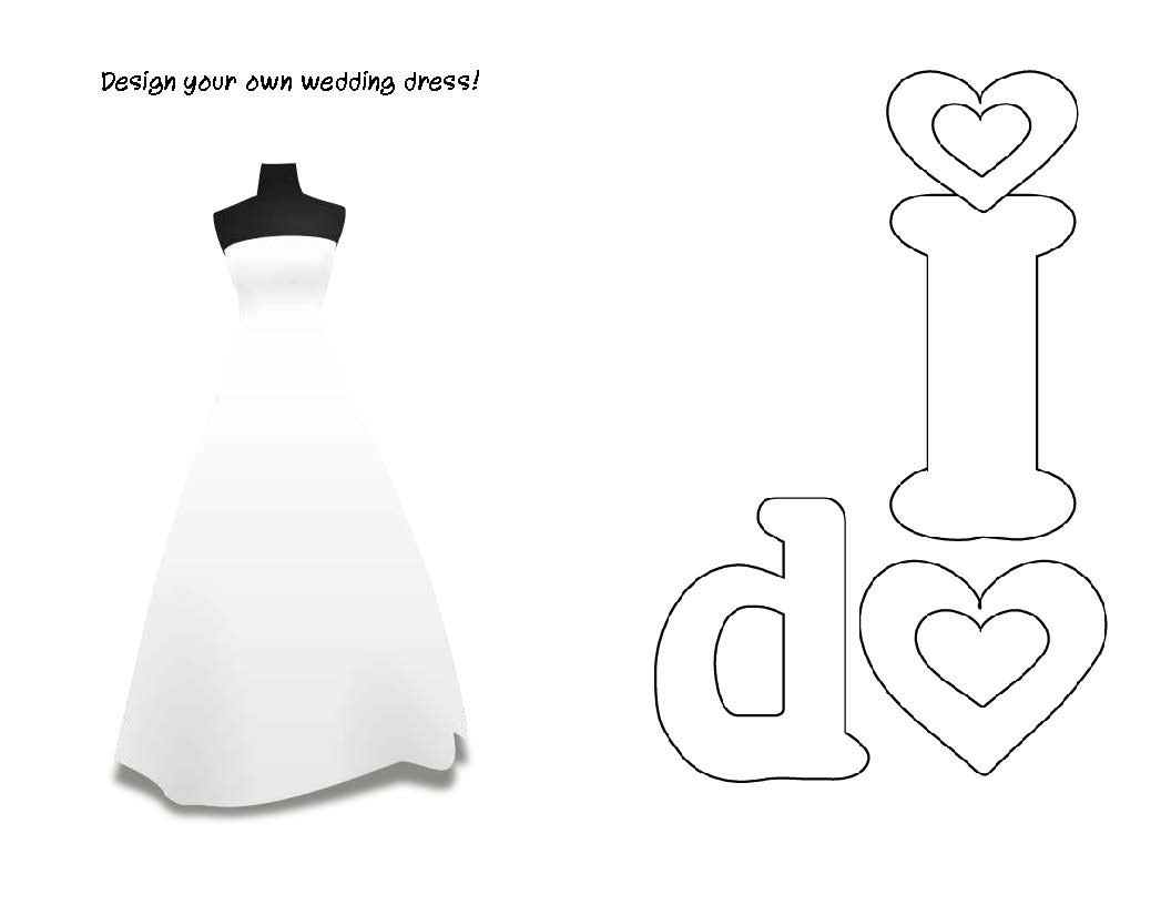 Lyndi S Projects Wedding Activity Book For Kids