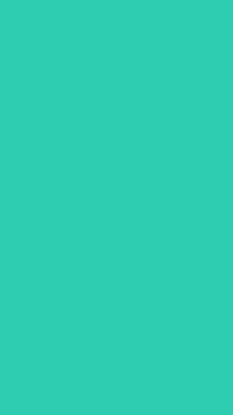 Light Sea Green Wallpaper For IPhone Solid Color