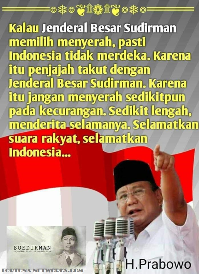 #INAelection2019 'ANOMALI POLITIK INDONESIA'
