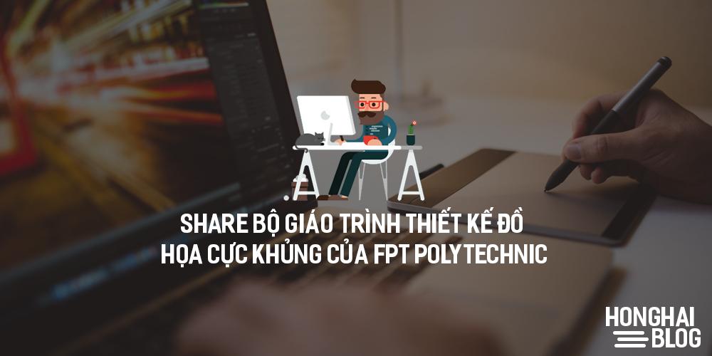 Share Bộ giáo trình thiết kế đồ họa cực khủng của FPT Polytechnic