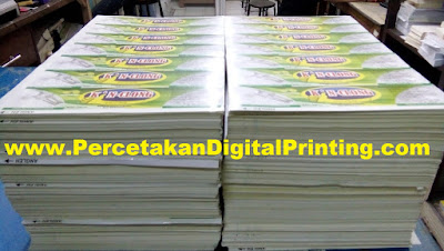 Contoh Desain STICKER LABEL Dari Percetakan Digital Printing Terdekat