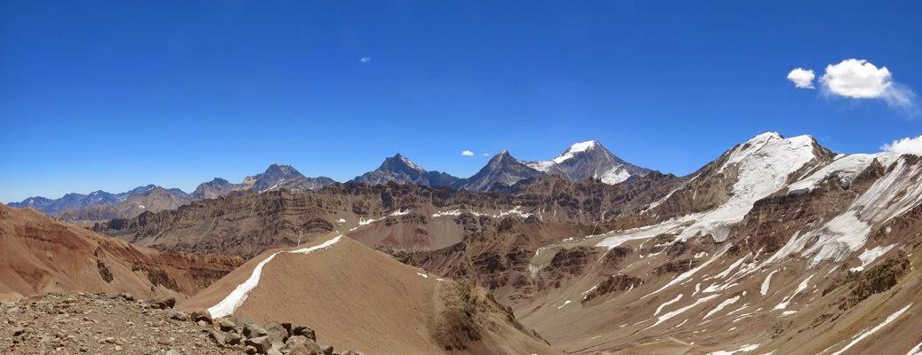 Bergpanorama auf 4400m
