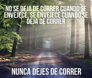 Nunca dejes de correr