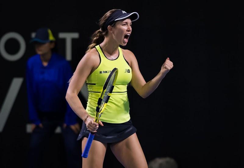 Danielle Rose Collins Clicks at 2020 Brisbane International WTA Premier Tennis Tournament 6 JAn-2020