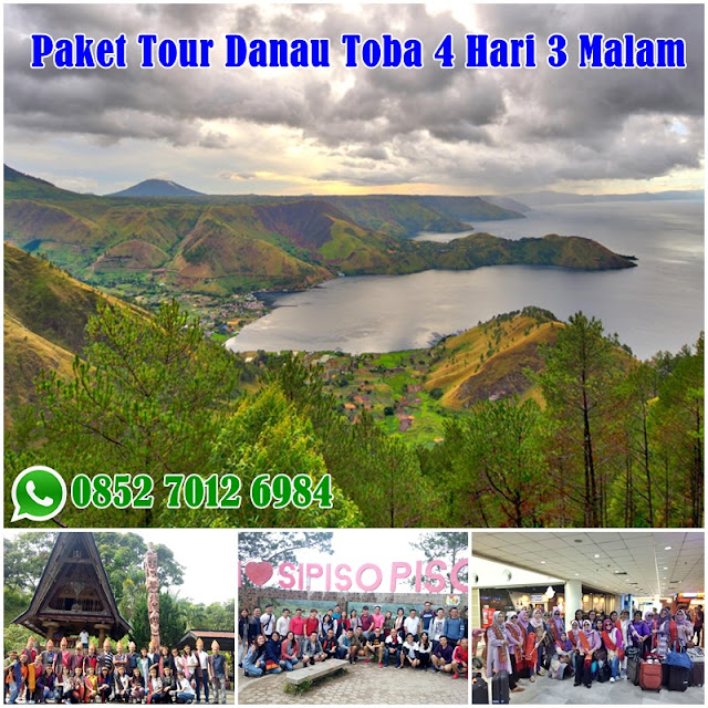 Paket Tour Danau Toba Murah 4 Hari 3 Malam