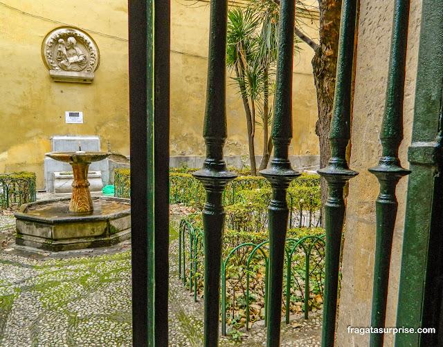 Jardim da Faculdade de Direito de Granada