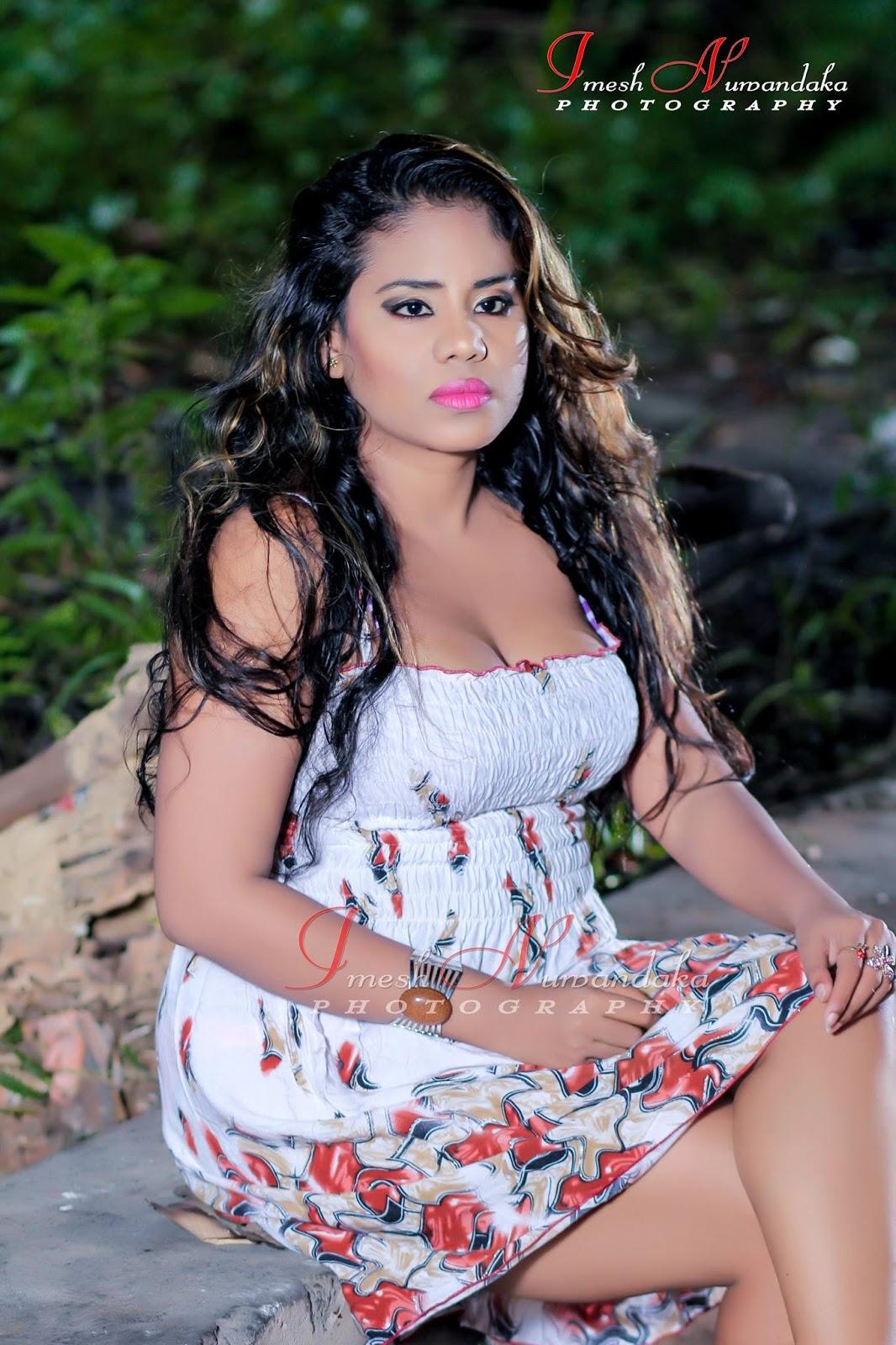 Hasini Gunaratne - Srilanka Models Zone 24X7-2984