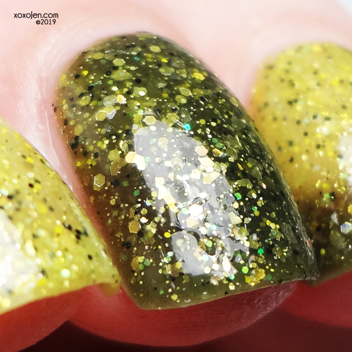 xoxoJen's swatch of Mckfresh Nail Attire Instinct
