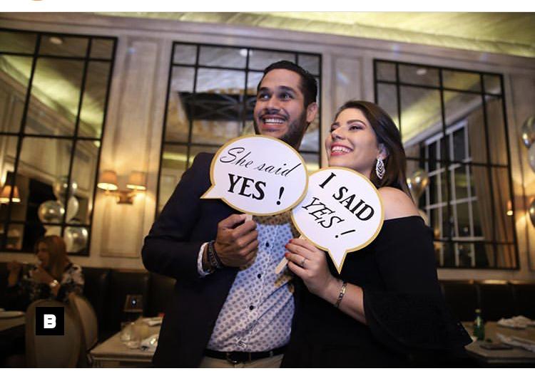 Fotos: Juan Carlos Pichardo y su novia se comprometen