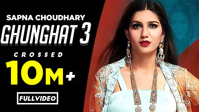 2020 ghunghat lyrics sapna choudhary ke naye gane video main