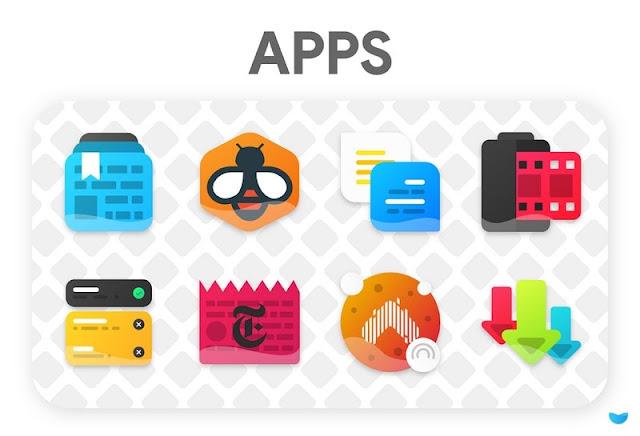 Glaze icon pack full APK