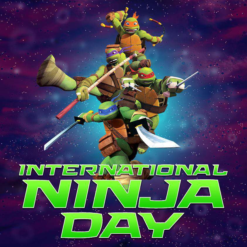 International Ninja Day Wishes For Facebook