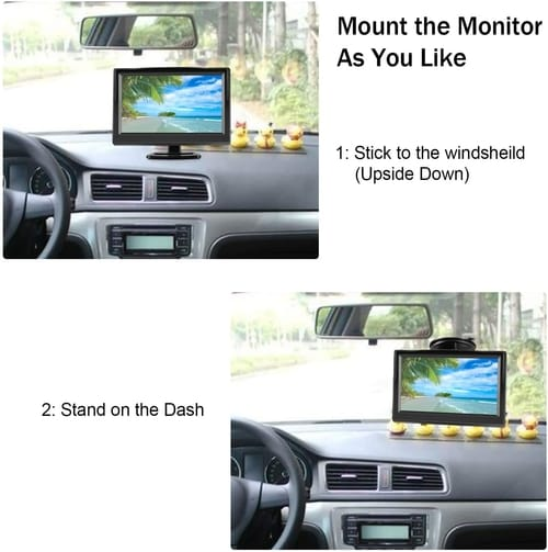 Niloghap High Definition Car Camera Monitor