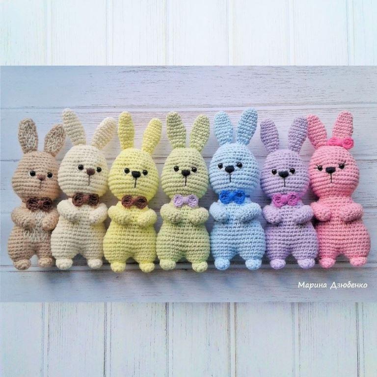 Easter Bunny Amigurumi Free Pattern Amiguroom Toys
