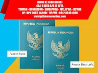 TKI Perlu Tahu Perbeda Paspor Biasa dan E-Paspor