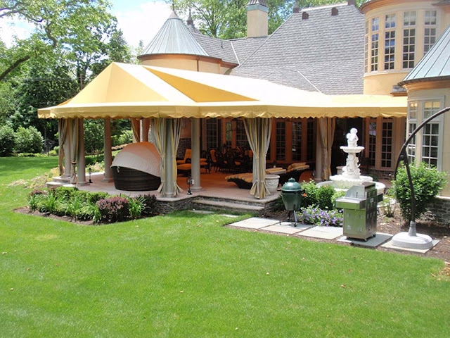 Varies Ways to Style Your Backyard with an Outdoor Canopy