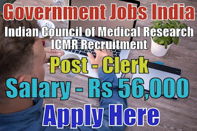 Indian Council of Medical Research ICMR Recruitment 2018