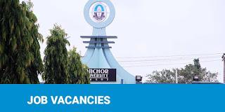 Anchor University Internal & External Job Vacancies Nov. 2020