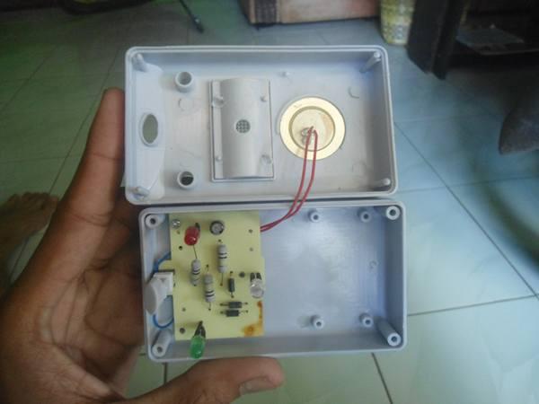 rangkaian alat pengusir tikus kecoa elektronik