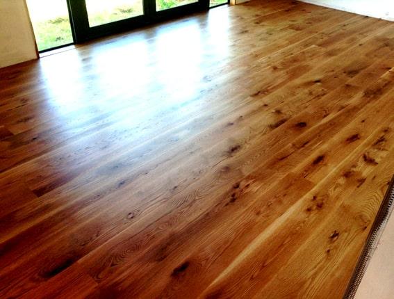 Waxed wood