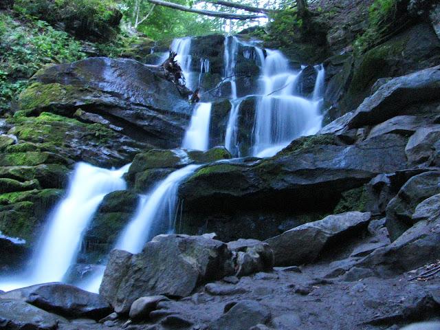 фото водопада на длинной выдержке