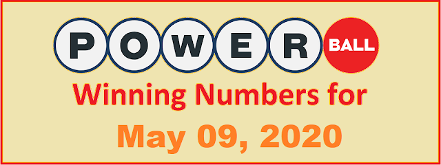 PowerBall Winning Numbers for Saturday, May 09, 2020