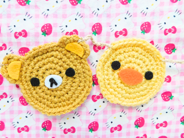 Rilakkuma Garland Crochet Pattern