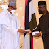 President Buhari Takes Delivery Of First Ever Made In Nigeria Mobile Phone
