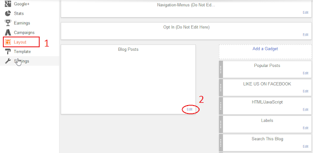 Cara Membuat Widget About the Author ( tentang Penulis ) Blogger #2