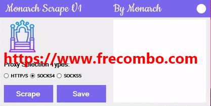 Monarch Proxy Scraper V1.0 HQ Proxy Tool