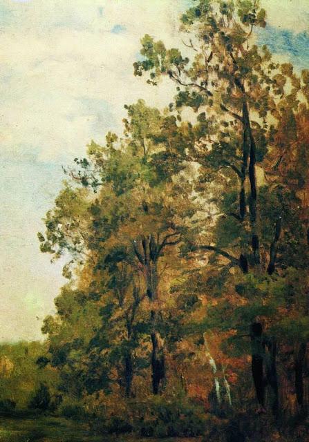 Исаак Ильич Левитан - Опушка леса. Первая половина 1880-х