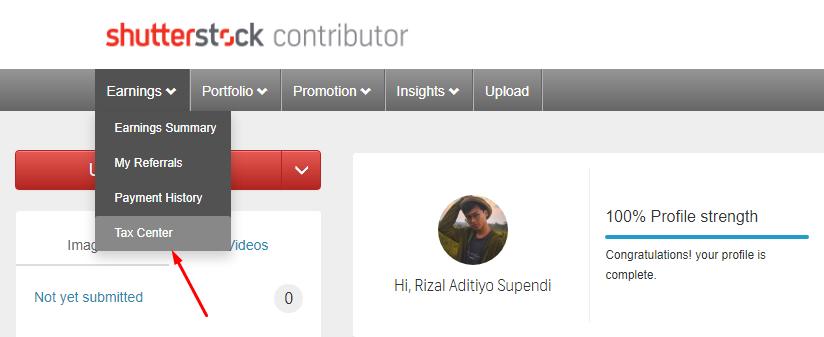 Dashboard Shutterstock