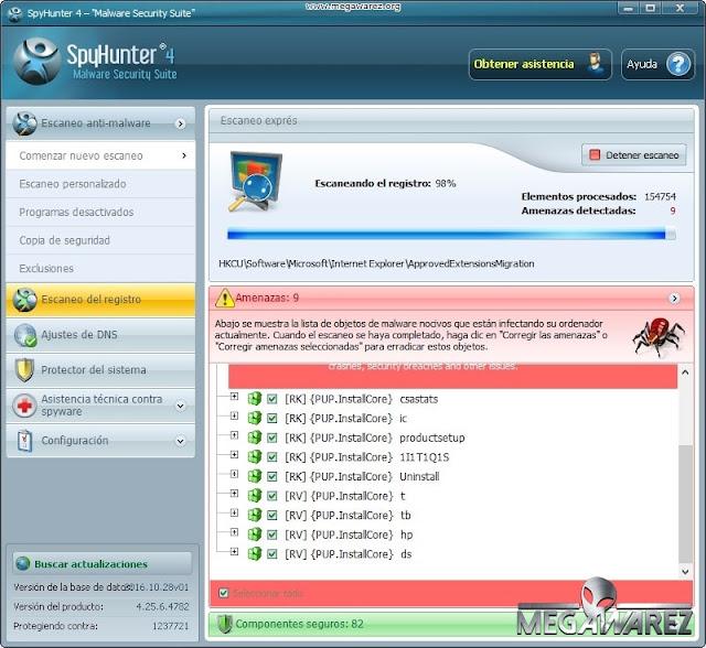 SpyHunter Malware Security Suite 4 imagenes
