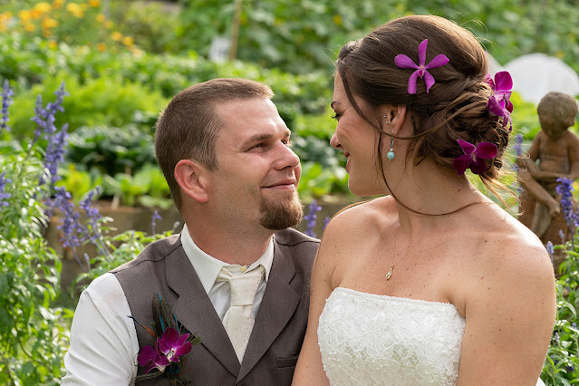 Tropical wedding portraits at Shadowood Farms wedding in Palm City Florida photo by Houghton Photography