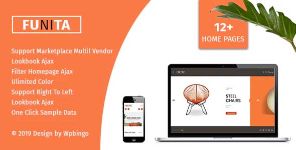 Funita - Multi Vendor WooCommerce Furniture Theme - WooCommerce eCommerce