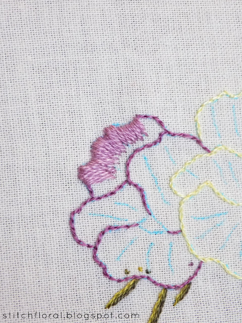Needle Painting stitch along: part 3