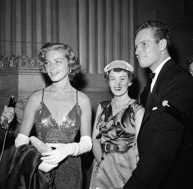 Fotografías del estreno de Ha nacido una estrella - 1954