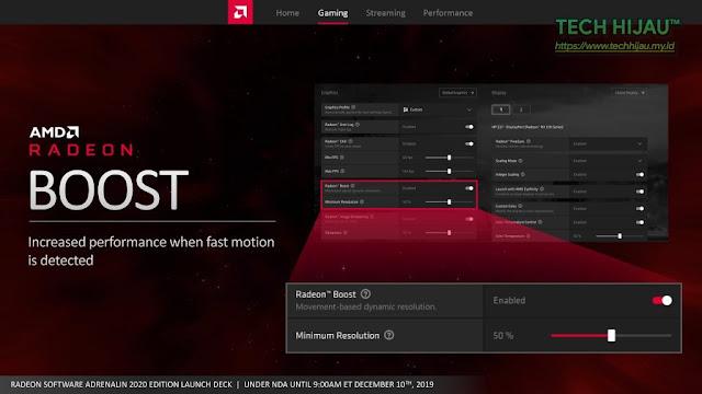 Tech Hijau™ — AMD Radeon Software Adrenalin 2020 Edition - Radeon Boost (1)