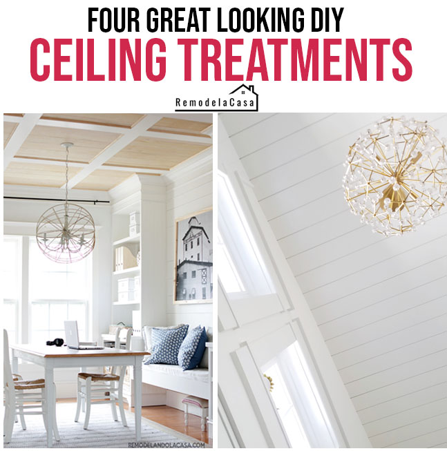 ceiling treatments that wow