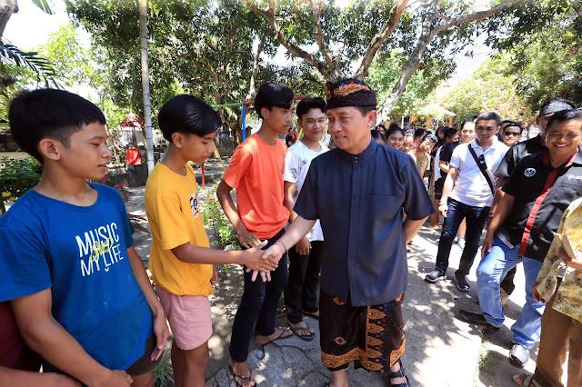 Bupati Suwirta Serahkan Bantuan CSR Untuk Panti Asuhan Semara Putra