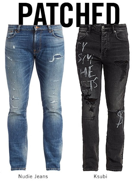 Luxury Patched Jeans