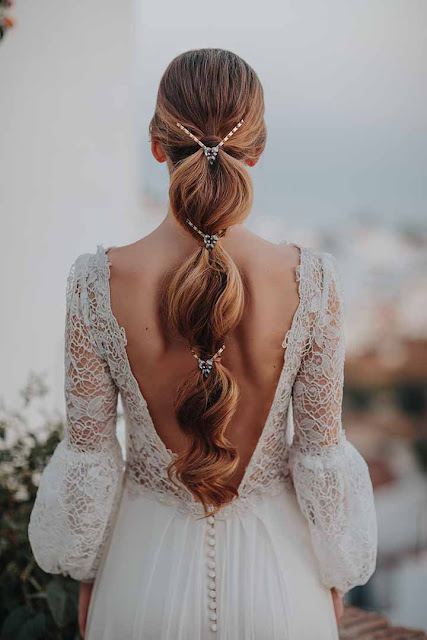 peinado novia 2020