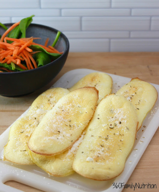 Garlic Cloud Breadsticks